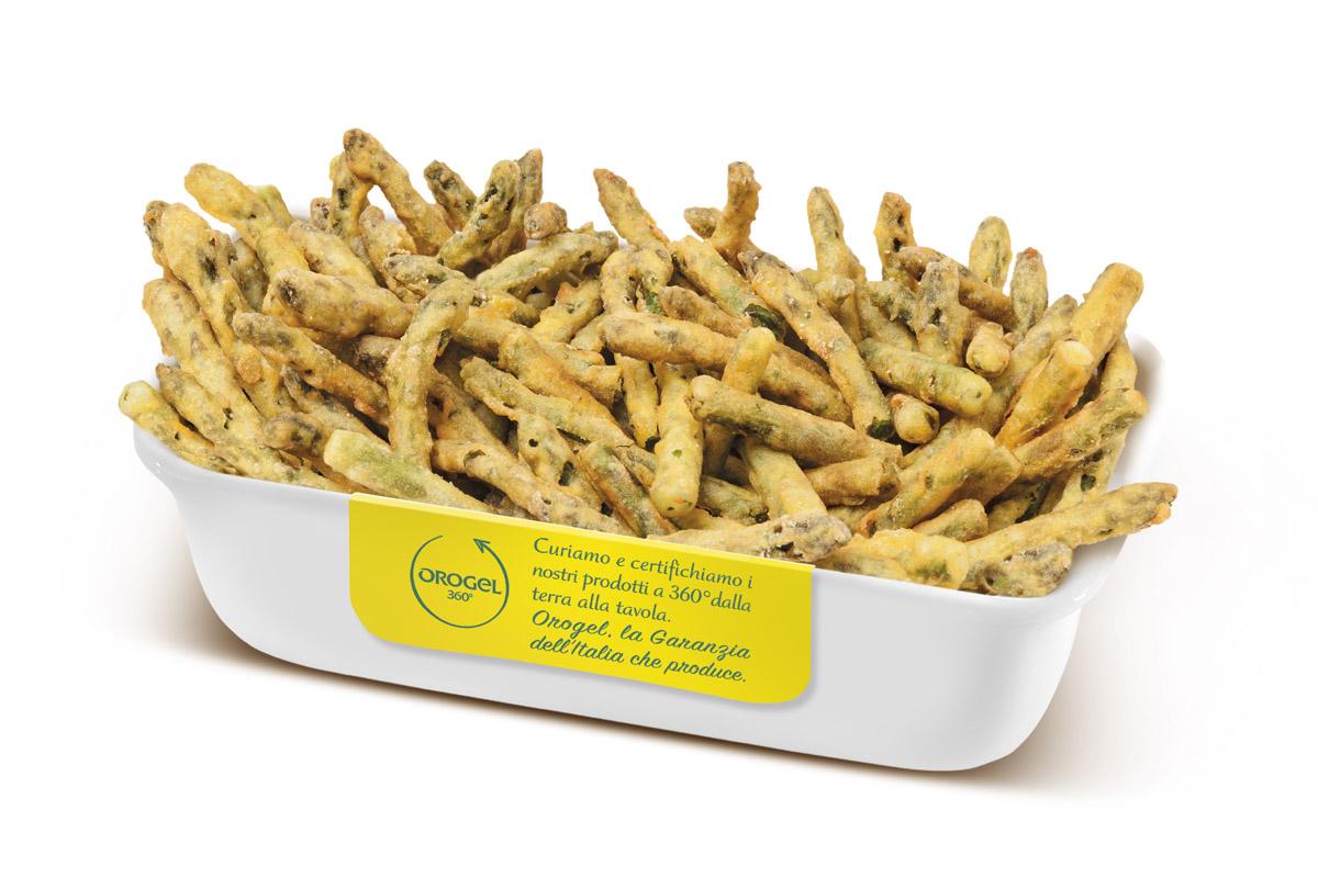 Fotografia still life food. Packaging per Orogel