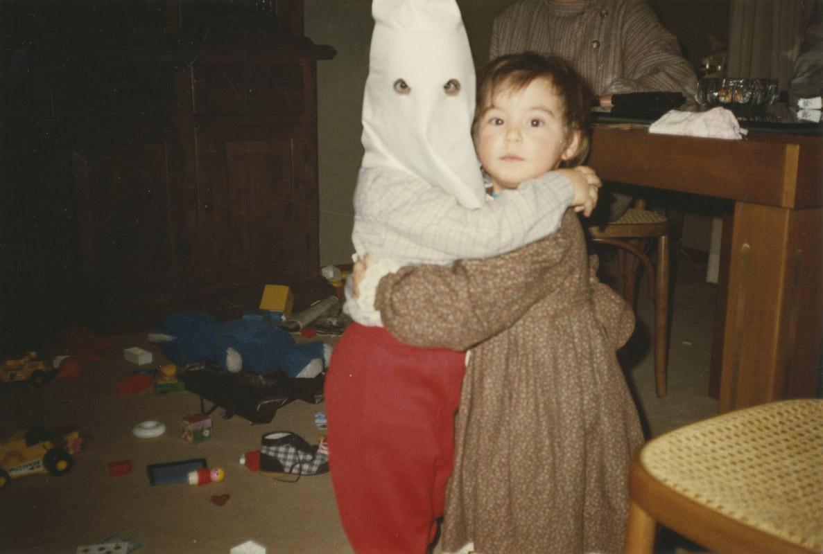 kkk, ku klux klan, kid, racism, photomontages storytelling