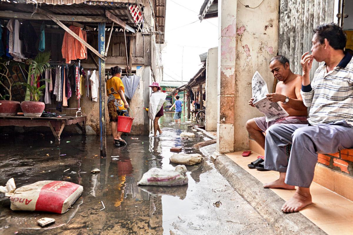 boung kak, lake, phnom penh, cambodia, development, dry