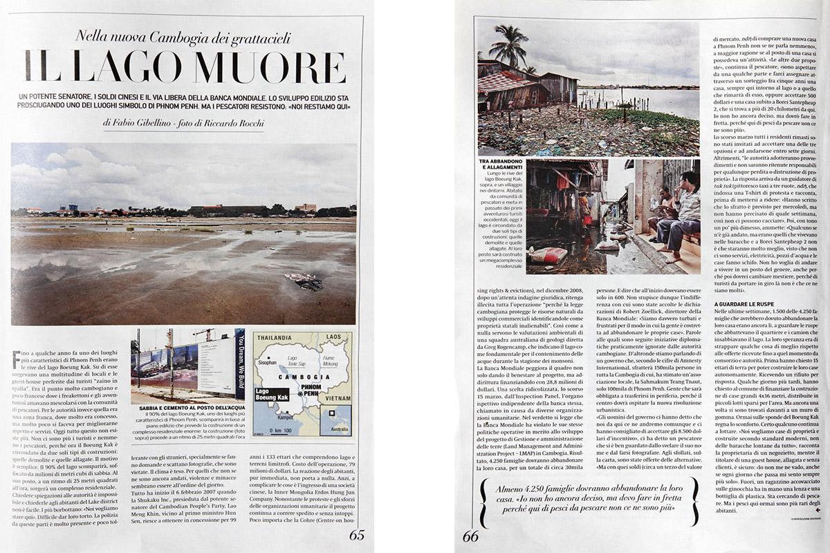 SETTE – Corriere della Sera_LakeSideStory_2011